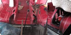 Trappe sous sièges combi VW