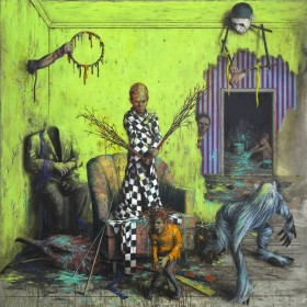 Peinture de Jonas Burgert