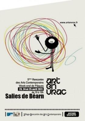 Festival rencontre d'art contemporain: 23, 24 et 25 Avril 2011 à Salies