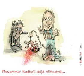 Mort de Mouammar Kadhafi ; Accouchement de Carla Bruni Sarkozy