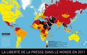 Liberté de la presse dans le monde
